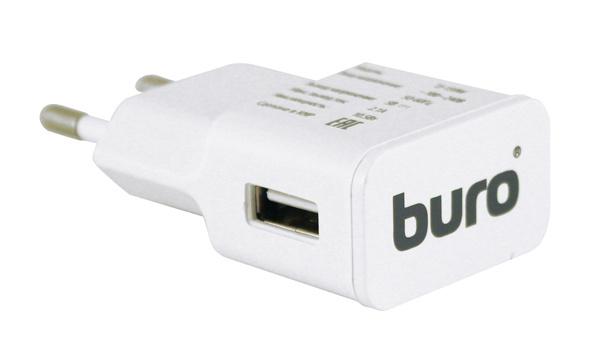 Сетевое зар./устр. Buro TJ-159w 2.1A универсальное белый