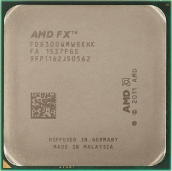 Процессор AMD FX 8300 AM3+ (FD8300WMHKBOX) (3.3GHz/5200MHz) Box