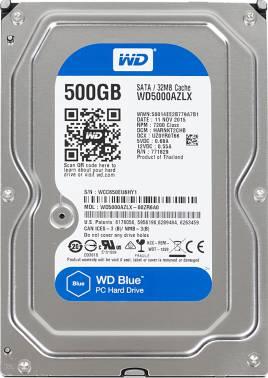Жесткий диск WD Original SATA-III 500Gb WD5000AZLX Blue (7200rpm) 32Mb 3.5