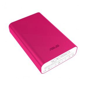 Мобильный аккумулятор Asus ZenPower ABTU005 Li-Ion 10050mAh 2.4A розовый 1xUSB