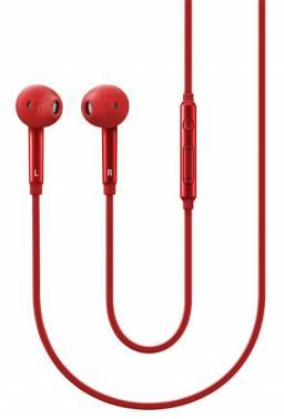 Гарнитура вкладыши Samsung EO-EG920L 1.2м красный проводные (в ушной раковине)