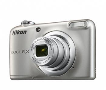 Фотоаппарат Nikon CoolPix A10 серебристый 16.1Mpix Zoom5x 2.7