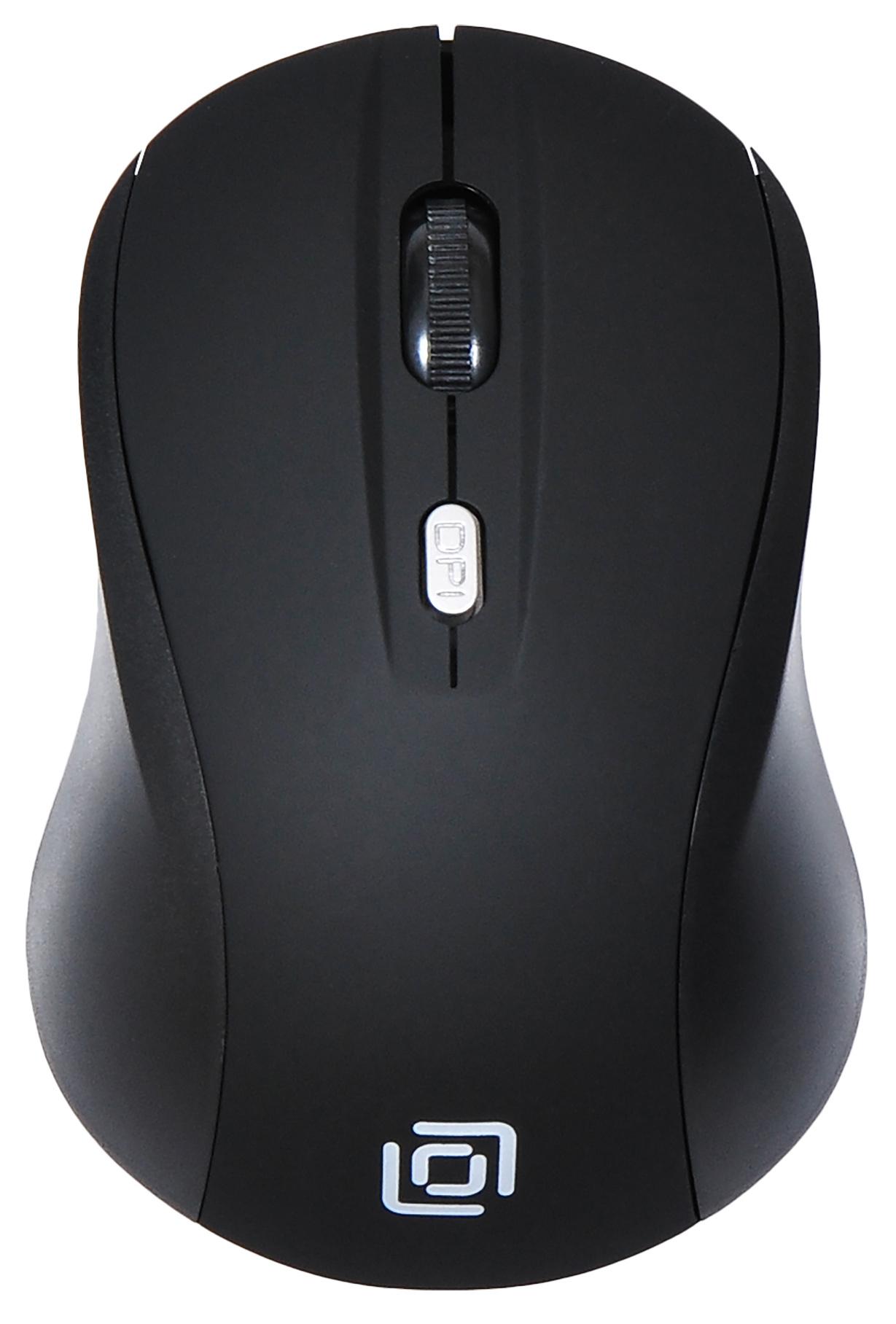 Мышь Oklick 415MW черный оптическая (1600dpi) беспроводная USB (3but)