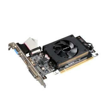 Видеокарта Gigabyte PCI-E GV-N710D3-2GL nVidia GeForce GT 710 2048Mb 64bit DDR3 954/1800 DVIx1/HDMIx1/CRTx1/HDCP Ret low profile