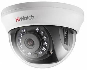 Камера видеонаблюдения Hikvision HiWatch DS-T101 2.8-2.8мм HD TVI цветная корп.:белый