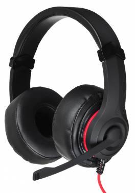 Наушники с микрофоном Oklick HS-L330G NIGHTMARE черный 2.2м мониторы оголовье (N-6)