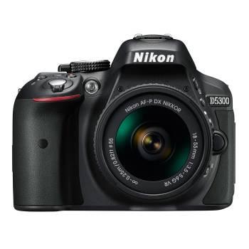 Зеркальный Фотоаппарат Nikon D5300 черный 24.2Mpix AF-P 18-55mm f/3.5-5.6VR 3