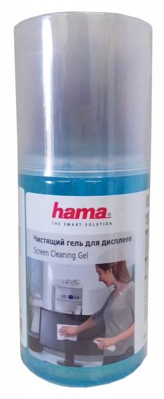 Чистящий набор (салфетки + гель) Hama R1199381 для экранов и оптики 200мл