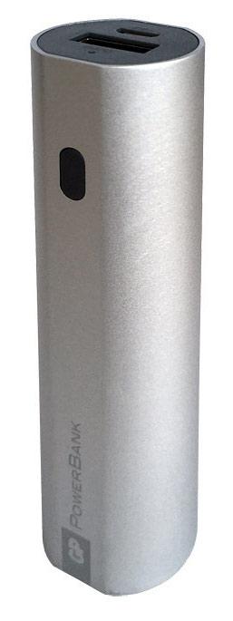 Мобильный аккумулятор GP Portable PowerBank FN03M Li-Ion 3000mAh 1.2A серебристый 1xUSB