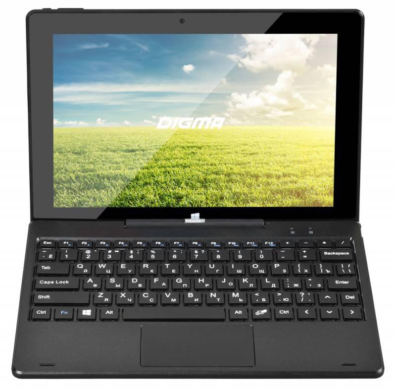 "Планшет Digma EVE 1801 3G Cherry Trail Z8300 (1.44) 4C/RAM2Gb/ROM32Gb 10.1"" IPS 1280x800/3G/Windows 10/графит/2Mpix/2Mpix/BT/WiFi/Touch/microSD 128Gb/mHDMI/minUSB/6000mAh"