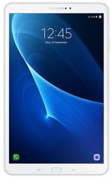 "Планшет Samsung Galaxy Tab A SM-T580N (1.6) 8C/RAM2Gb/ROM16Gb 10.1"" TFT 1920x1200/Android 6.0/белый/8Mpix/2Mpix/BT/GPS/WiFi/Touch/microSD 200Gb/minUSB/7300mAh/13hr"