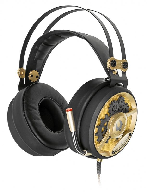 Наушники с микрофоном A4 Bloody M660 черный/бронзовый 1.2м мониторы оголовье (A4TECH M660)