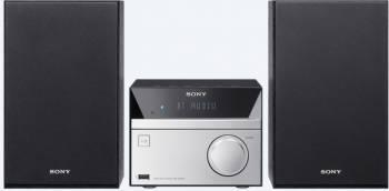 Микросистема Sony CMT-SBT20 серебристый/черный 12Вт/CD/CDRW/FM/USB/BT
