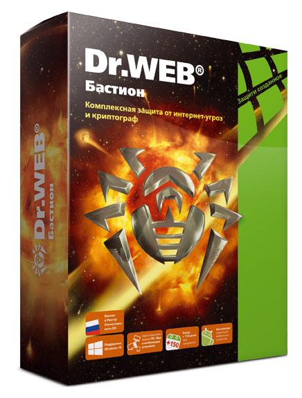 Ключ активации DR.Web 5ПК Anti-virus с Криптографом LHW-AR-24M-5-A3 24мес