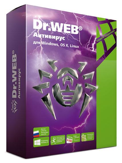 Ключ активации DR.Web 1ПК Anti-virus 1ПК/1год LHW-AK-12M-1-A3 12мес