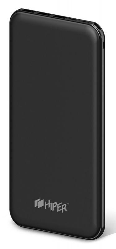 Мобильный аккумулятор Hiper PSX20000 Li-Pol 20000mAh 2A+2A+1A черный 3xUSB