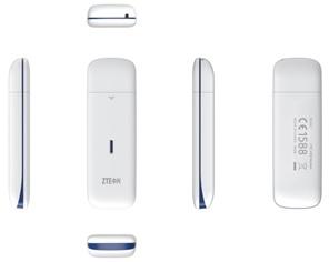 Модем 2G/3G/4G ZTE MF823D USB внешний белый