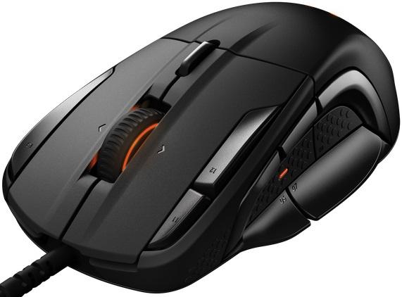 Мышь Steelseries Rival 500 черный оптическая (16000dpi) USB игровая (12but)