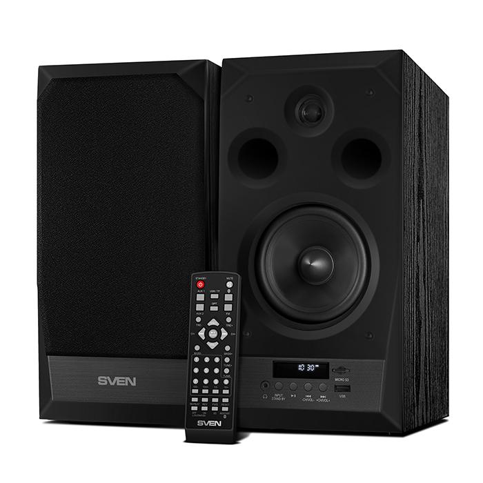 Колонки Sven MC-20 2.0 черный 90Вт