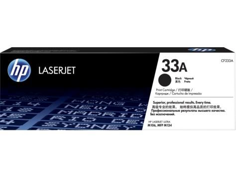 Картридж лазерный HP 33A CF233A черный (2300стр.) для HP LJ Pro M106/M134