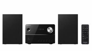 Микросистема Pioneer X-EM16-B черный 10Вт/CD/CDRW/FM/USB