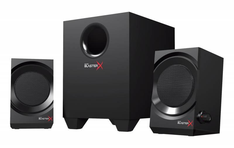 Колонки Creative Sound BlasterX Kratos S3 2.1 черный 46Вт