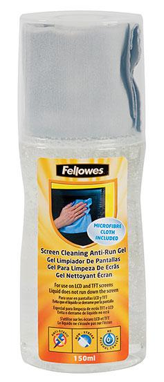 Чистящий набор (салфетки + гель) Fellowes FS-99079 для экранов 1шт 13.5x14см 150мл