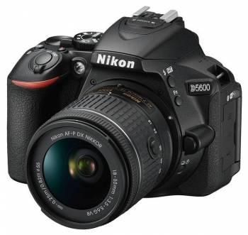 Зеркальный Фотоаппарат Nikon D5600 черный 24.2Mpix 18-55 VR AF-P f/3.5-5.6G 3