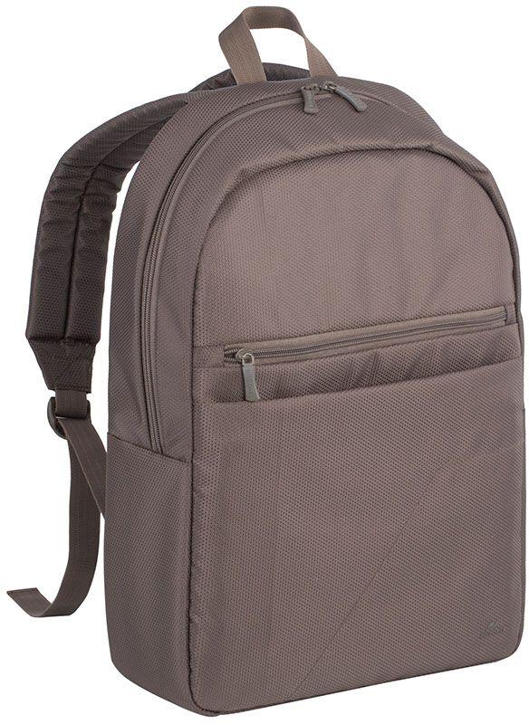 "Рюкзак для ноутбука 15.6"" Riva 8065 хаки полиэстер"