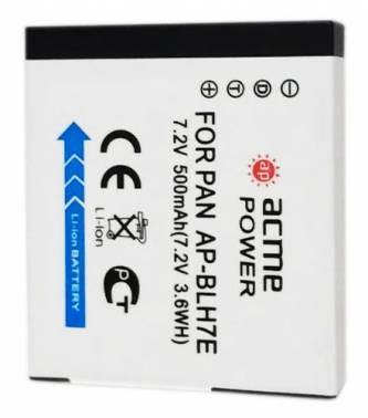 Аккумулятор для компактных камер AcmePower AP-BLH7 для: Panasonic DMC-GM1