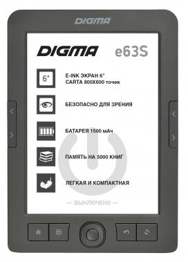 Электронная книга Digma E63S 6