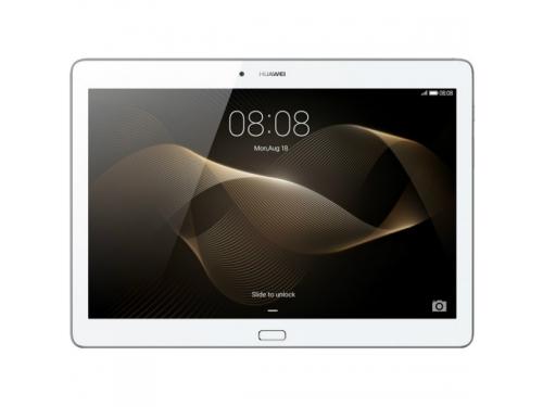 "Планшет Huawei MediaPad M2 10.0 Kirin 930 (2.0) 8C/RAM2Gb/ROM16Gb 10.1"" IPS 1920x1200/3G/4G/Android 5.1/серебристый/13Mpix/5Mpix/BT/GPS/WiFi/Touch/microSD/minUSB/6660mAh"