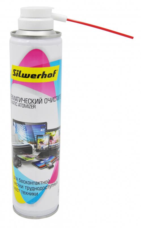 Баллон со сжатым воздухом Silwerhof для удаления пыли 300мл
