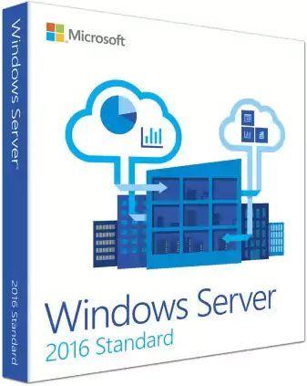 Операционная система Microsoft Windows Server 2016 Std 5 Clt 64 bit Rus BOX (P73-07059)