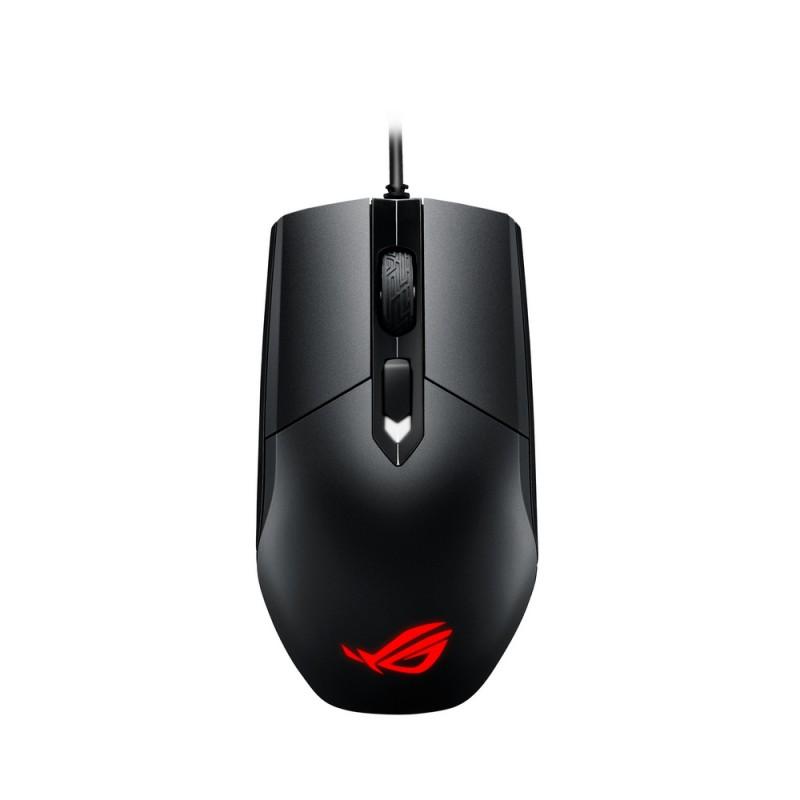 Мышь Asus ROG STRIX Impact черный оптическая (5000dpi) USB2.0 игровая (3but)
