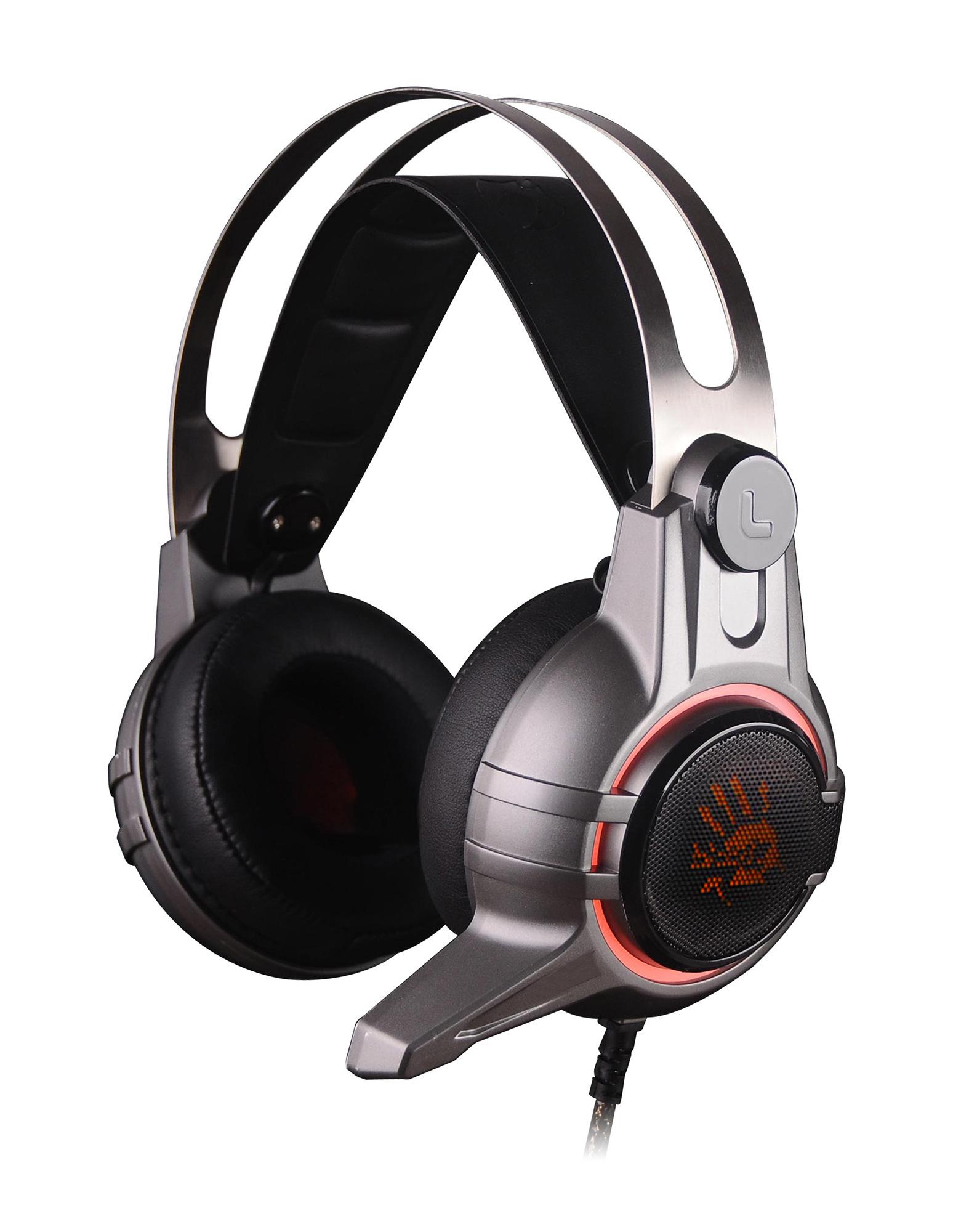 Наушники с микрофоном A4 Bloody M425 темно-серый 2.2м мониторы оголовье (M425 GREY)