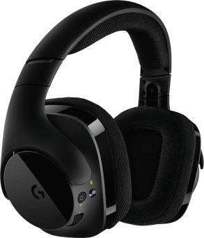 Наушники с микрофоном Logitech G533 черный мониторы Radio оголовье (981-000634)