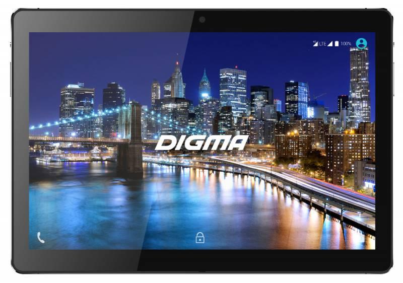 "Планшет Digma CITI 1508 4G MT8735w (1.3) 4C/RAM3Gb/ROM64Gb 10.1"" IPS 1920x1200/3G/4G/Android 7.0/черный/5Mpix/2Mpix/BT/GPS/WiFi/Touch/microSD 64Gb/minUSB/6000mAh"