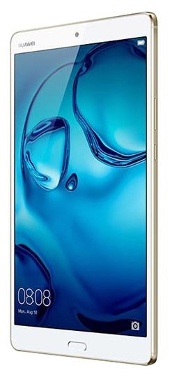 "Планшет Huawei MediaPad M3 8.4 Kirin 950 (2.3) 8C/RAM4Gb/ROM64Gb 8.4"" IPS 2560x1600/3G/4G/Android 6.0/золотистый/8Mpix/8Mpix/BT/GPS/WiFi/Touch/microSDHC 128Gb/minUSB/5100mAh"