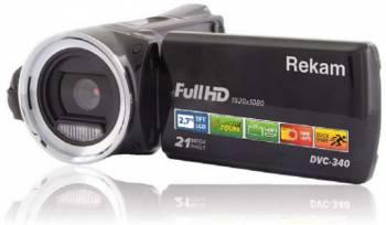 Видеокамера Rekam DVC-340 черный IS el 2.7