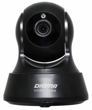 Видеокамера IP Digma DiVision 200 2.8-2.8мм цветная корп.:черный