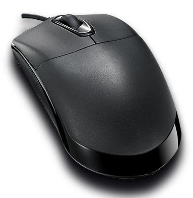 Мышь Rapoo N1050 черный оптическая (1000dpi) USB2.0 (2but)