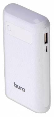 Мобильный аккумулятор Buro RC-7500A-W Li-Ion 7500mAh 1A+1A белый 2xUSB