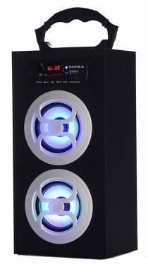 Аудиомагнитола Supra BTS-650 черный 10Вт/MP3/FM(dig)/USB/BT/SD