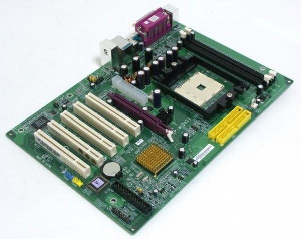 Серверный мост nForce3 250 поддерживает частоту системной шины 400 MГц FSB.  Процессорная шина Hyper Transport.
