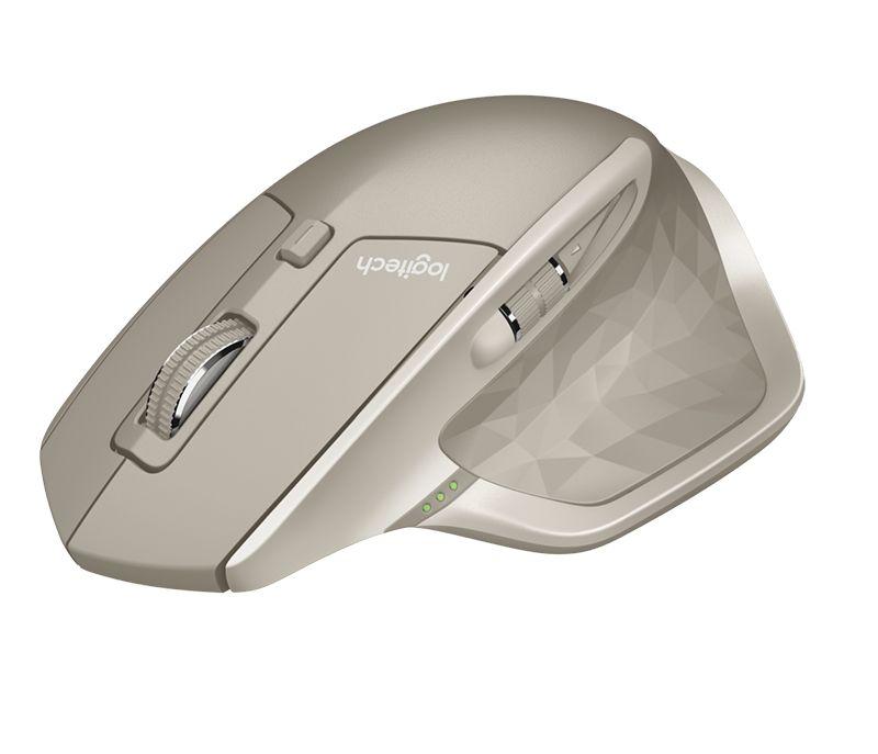 Мышь Logitech MX Master бежевый лазерная (1600dpi) беспроводная BT игровая (5but)