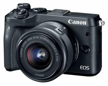 Фотоаппарат Canon EOS M6 черный 24.2Mpix 3