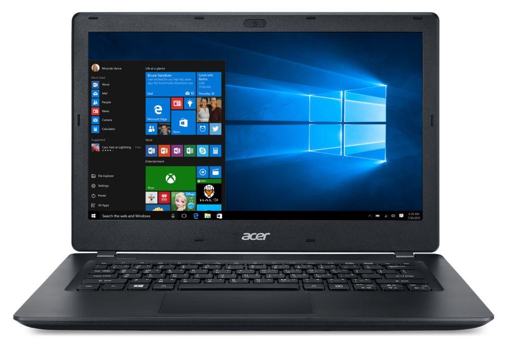 "Ноутбук Acer TravelMate TMP238-M-592S Core i5 6200U/6Gb/500Gb/Intel HD Graphics 520/13.3""/HD (1366x768)/Windows 10 Home/black/WiFi/BT/Cam/3270mAh"