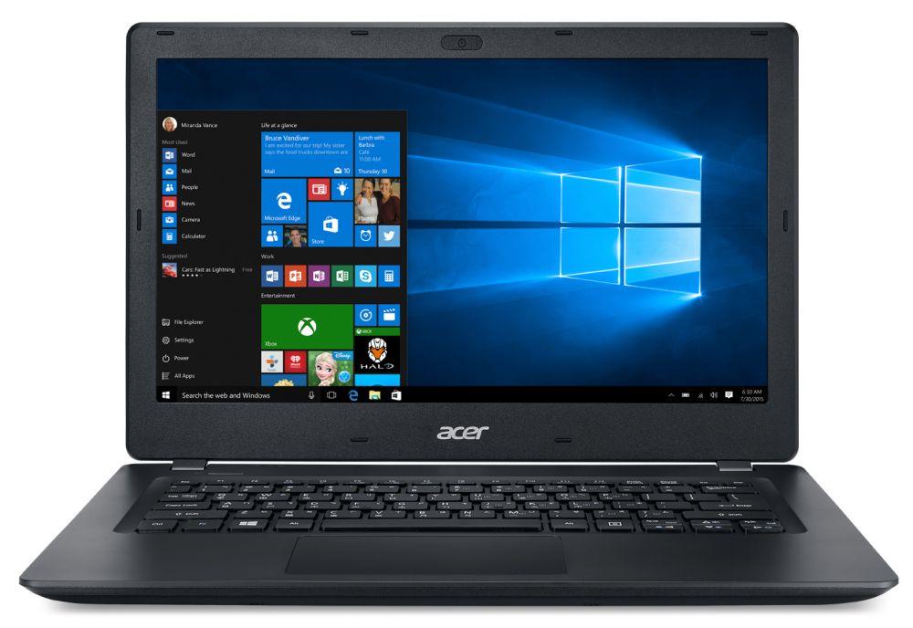"""Ноутбук Acer TravelMate TMP238-M-35ST Core i3 6006U/4Gb/500Gb/Intel HD Graphics 520/13.3""""/HD (1366x768)/Windows 10 Home/black/WiFi/BT/Cam/3270mAh"""