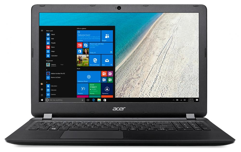 "Ноутбук Acer Extensa EX2540-34YR Core i3 6006U/4Gb/500Gb/Intel HD Graphics 520/15.6""/HD (1366x768)/Windows 10 Home/black/WiFi/BT/Cam/3220mAh"